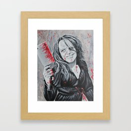 intoxicating blade Framed Art Print