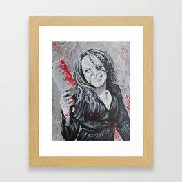 intoxicating blade Framed Art Print
