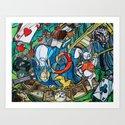 Alice Down the RAbbit Hole by richardsquarecube