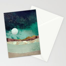 Spring Night Stationery Cards