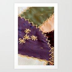 Crazy Quilt Art Print