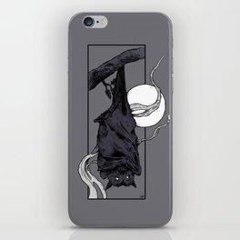 Purple Bat iPhone Skin