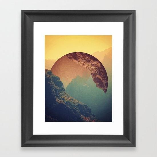 Esfera Framed Art Print