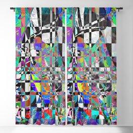 Mosaic Mountain Blackout Curtain