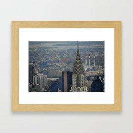 Miles of NYC Framed Art Print