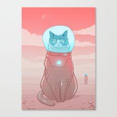 Astronaut Cat Canvas Print