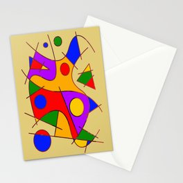 Abstract #206 Stationery Cards