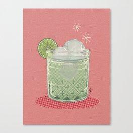 LEMON TONIC Canvas Print