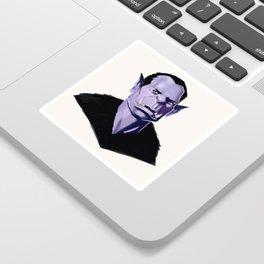 Vampire Portrait Sticker