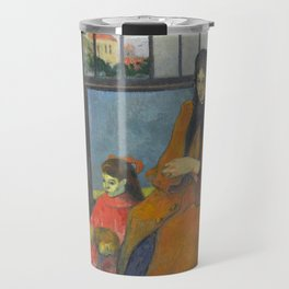 Schuffenecker Family by Paul Gauguin Travel Mug