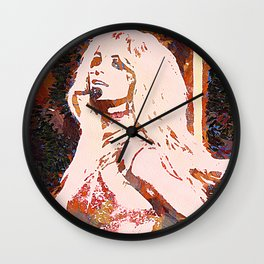 Britney Wall Clock