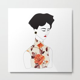 In the Mood for Love Metal Print