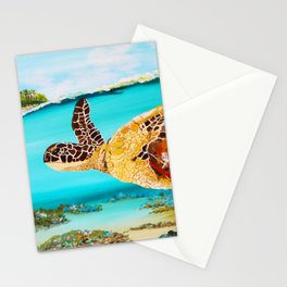 Swimming Free Stationery Cards