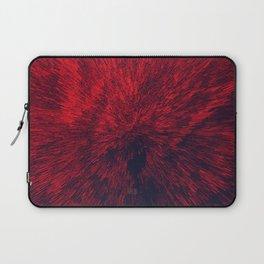 Bold Burst in Brilliant Red Laptop Sleeve