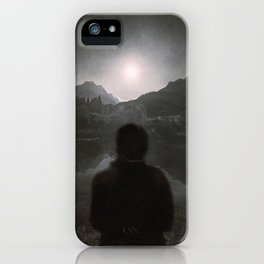 Hypnotized by the Moon II iPhone Case