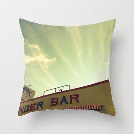 Wonder Bar Throw Pillow