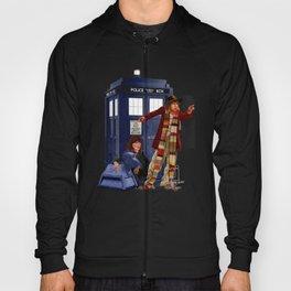 4th Doctor, Sarah Jane, K-9 and the TARDIS Hoody