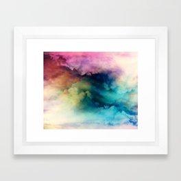 Rainbow Dreams Framed Art Print