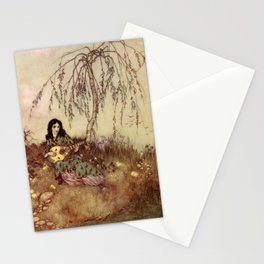 Beauty Had A Brave Heart By Edmund Dulac Stationery Cards