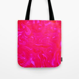 In Love with Pink Swirls Tote Bag