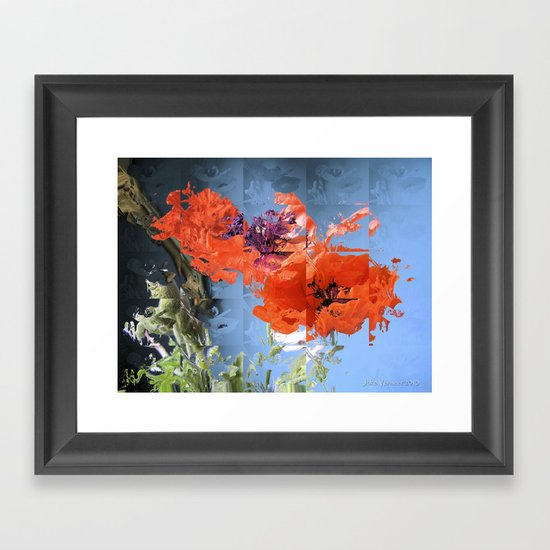 Put on Your Red Shoes and Dance the Blues Framed Art Print