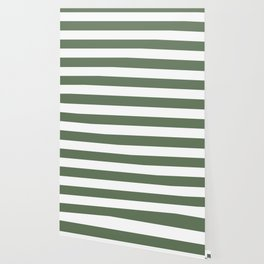 Axolotl - solid color - white stripes pattern Wallpaper