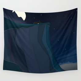 fairy landscape (at night) Wall Tapestry