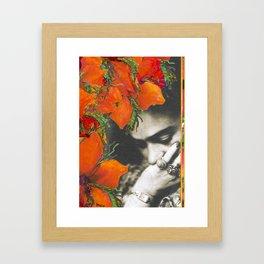 Tribute to Frida Kahlo #39 Framed Art Print
