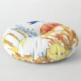 Fish Pattern 07 Floor Pillow