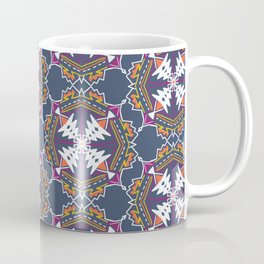apache, tribal pattern in grey Coffee Mug