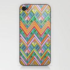 Chevron Neon iPhone & iPod Skin