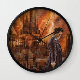 Saviour of Gallifrey Wall Clock