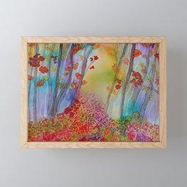 Mystical Forest Framed Mini Art Print