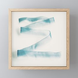 Abstract forms Framed Mini Art Print