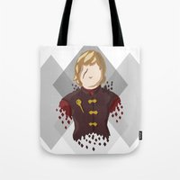 lannister Tote Bags featuring Tyrion Lannister by itsamoose