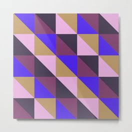 Triangle quilt pattern n° 23 Metal Print
