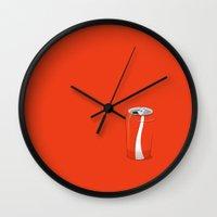 coke Wall Clocks featuring Simple Coke by ahainen