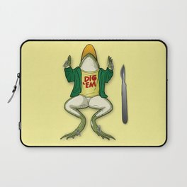 I think I knew this frog... Laptop Sleeve