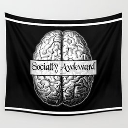 Socially Awkward Wall Tapestry