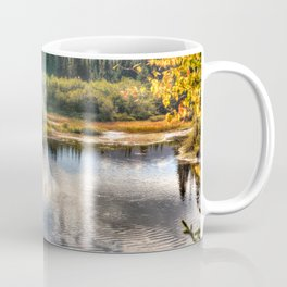 Fall Fly Fishing in Maine Coffee Mug