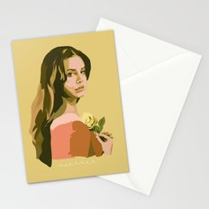 Lana with Rose Stationery Cards