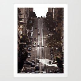 San Francisco Hills Art Print