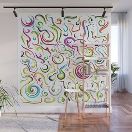 graphic design 15 by Leslie Harlow Wall Mural