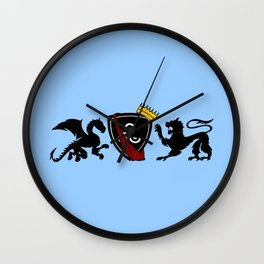 Merlin (Merthur) Crest Wall Clock