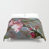 poem Duvet Covers featuring Poem from Rumi by Lucia