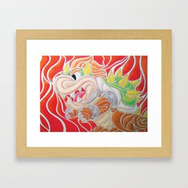 AcidBowser Framed Art Print