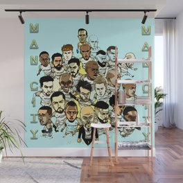 football stars Wall Mural