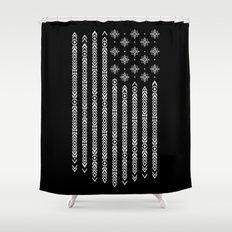Native Of America Shower Curtain