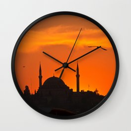 Istanbul Mosque Wall Clock