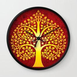 Bodhi Tree0101 Wall Clock